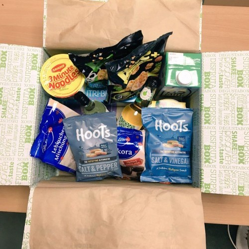 Hoots Snacks join the Degustabox line-up.