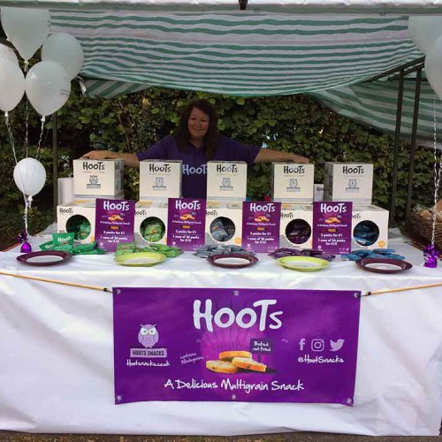 Hoots at the Humber Bridge Farmers market