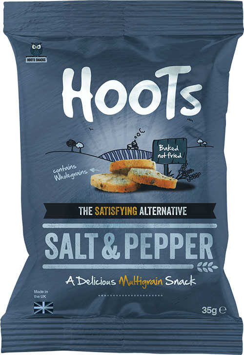 Salt & Pepper flavour multigrain snack